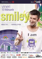 Concert Smiley in True Club din Bucuresti