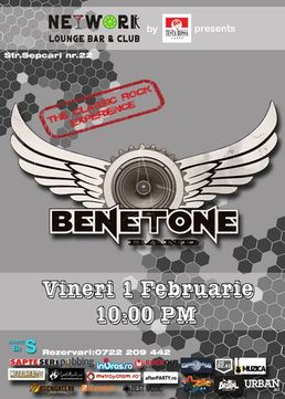 Concert Benetone Band in Networks Club