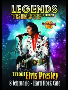 ELVIS PRESLEY - Legends Tribute - concert la Hard Rock Cafe