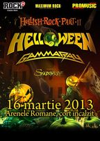 Concert Helloween si Gamma Ray la Bucuresti!