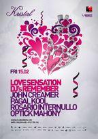 LOVE SENSATION DJS REMEMBER... @Kristal Club