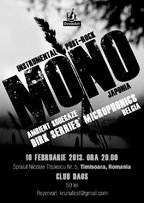Concert Mono si Dirk Serries' Microphonics in Daos Club
