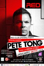 Grand Opening Party: RED CLUB cu DJ PETE TONG