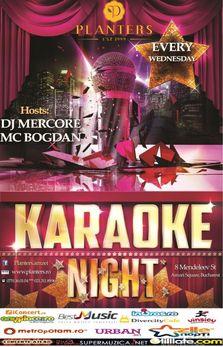 Karaoke Night @ Planters Club