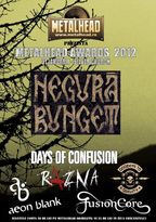 Concert Negura Bunget la METALHEAD Live Awards in The Silver Church