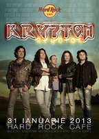 Krypton Reunion in premiera la Hard Rock Cafe Bucuresti