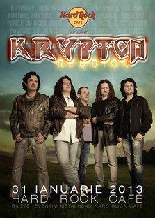 Krypton Reunion in premiera la Hard Rock Cafe Bucuresti
