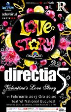 Concert Directia 5 de Valentine's Day la Teatrul National