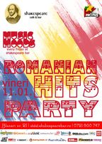 Music Moods: Romanian Hits Party @Shakespeare Bar