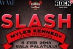 byron in deschidere la Slash feat. Myles Kennedy and The Conspirators!