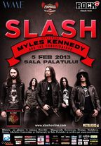 Slash si Myles Kennedy in concert la Sala Palatului