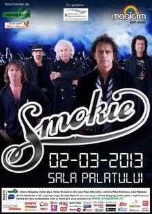 Concert Smokie la Sala Palatului