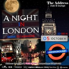 A Night in London @ The Address Club