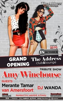 Grand Opening The Address Club & Lounge - Tribute to Amy Winehouse
