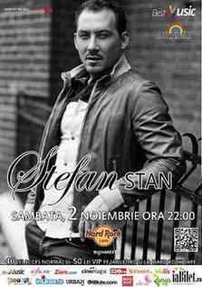 Stefan Stan concerteaza in Hard Rock Cafe