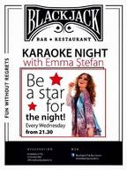 Karaoke Night with Emma Stefan