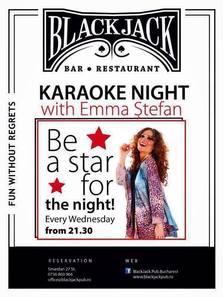 Karaoke Night with Emma Stefan