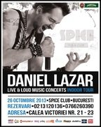 Daniel Lazar va canta in Spice Club