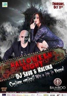 DJ Sava & Raluka de Halloween @ Bamboo