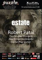 Estate by Robert Patai - MooNDay Jazz, Blues & More @ Puzzle