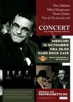 Nicu Alifantis, Mihai Margineanu, Florin Chilian, Vita de Vie (acustic set) in concert, pentru Odette!
