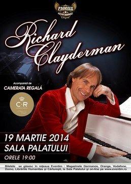 Richard Clayderman readuce primavara romantica la Bucuresti