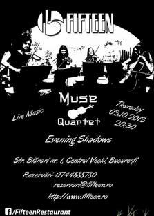 Live Evening Shadows with Muse Quartet @ Fifteen Pub