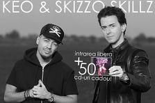 Keo si Skizzo Skillz iti dau 50 de motive sa vii maine in Garajul Europa FM!