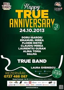 True Club aniverseaza 3 ani