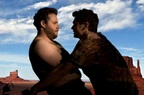 James Franco si Seth Rogen se saruta pe Kanye West - Bound 2