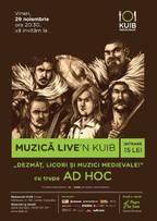 AD HOC live'n Kuib (Sinaia)
