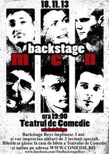 Backstage Men 3 @ Teatrul de Comedie