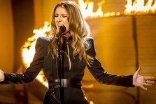 Celine Dion, Robbie Williams live @ X Factor UK