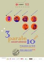 Concert aniversar Trei Parale la Sala ArCuB