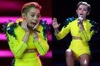 Miley Cyrus - Wrecking ball - live @ Bambi Awards