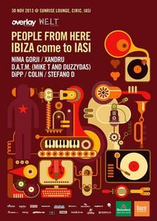 PEOPLE FROM HERE - IBIZA come to IASI