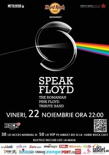 Speak Floyd @ Hard Rock Cafe