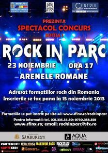 Se apropie finalizarea inscrierilor la ROCK IN PARC
