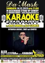 Karaoke Star Party si Stand Up Comedy @ Caffe Da'mask