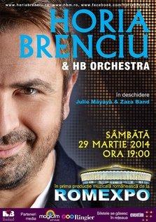Concert Horia Brenciu la Romexpo