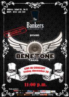 BENETONE Band LIVE la The Bankers