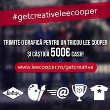 Lee Cooper va invita sa Get Creative