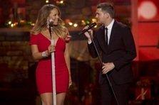 Mariah Carey in duet cu Michael Buble (video)