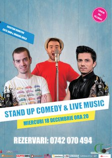 Stand Up Comedy & Live Music @ Goblin Pub