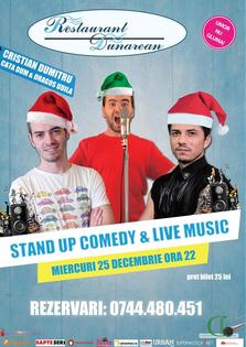 Stand Up Comedy & Live Music @ Restaurant Dunarean