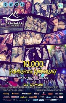 10 000 Friendsbook Anniversary