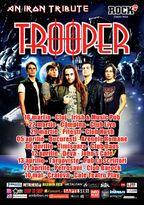 "Turneul TROOPER - ""An Iron Tribute"""