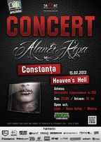 Concert ALAN & KEPA in club Heaven's Hell din Constanta