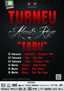 Alan & Kepa - Turneu de promovare: Tabu!