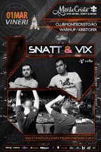 Snatt & Vix si Kristofer - primul party trance din 2013 in Bacau